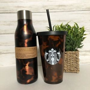 New Starbucks Hot &Cold bottle tumbler Combo Set